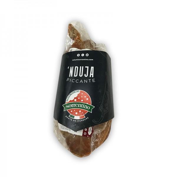Nduja Stück a ca 400g weiche Salami aus Italien