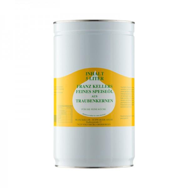 Traubenkernöl, kaltgepresst
