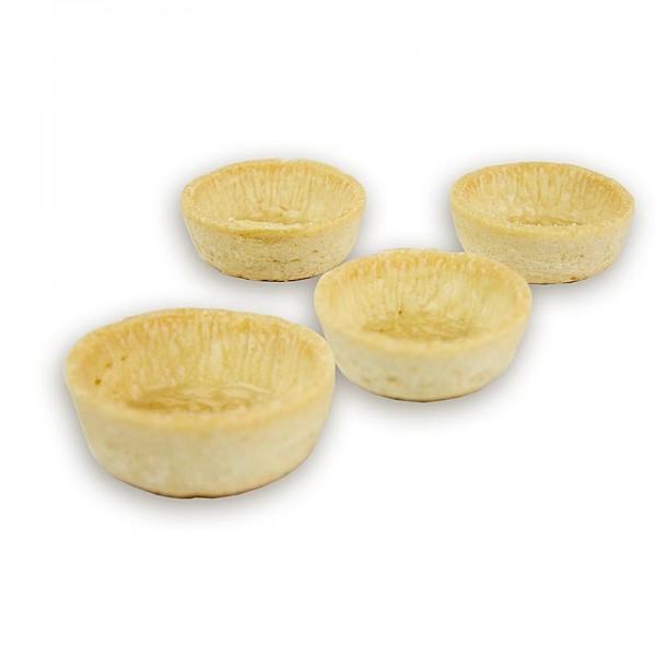 Snack-Tartelettes, rund, ø 5cm, hell, salzig