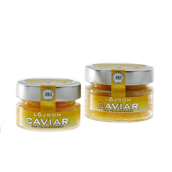 Löjrom Caviar aus Felchenrogen