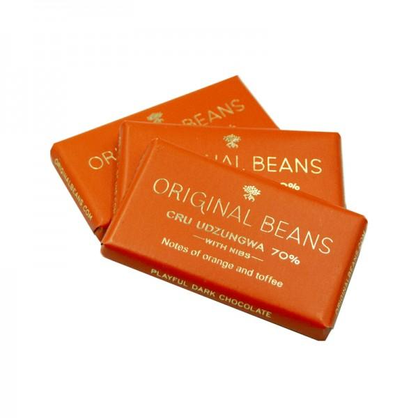 """BIO Minitafeln """"Udzungwa"""" 70%, Original Beans"""